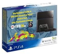 PlayStation 4 main unit ×FIFA 14 2014 FIFA World Cup Brazil Limited Pack with PlayStation Camera
