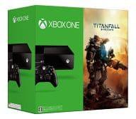 XboxOne本体 タイタンフォール同梱版(状態:箱(内箱含む)状態難・説明書欠品)