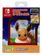 Nintendo Switch Exclusive Card Pocket 24 Pocket Monsters Let's Go! Eevee