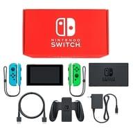 Nintendo Switch Color Customization [August 2019 Model] / Joy-Con (L) Neon Blue (R) Neon Green / Joy-COn Strap : Neon Blue / Neon Green