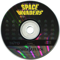SPACE INVADERS (status : game disc only)