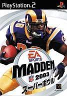MADDEN NFL Super Ball 2003