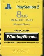 PlayStation 2 dedicated memory card (8 mb) PremiumSeries Striker Winning Eleven 8