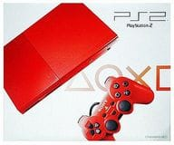 PlayStation 2 Main Unit Sinaver Red (SCPH-90000CR)