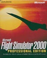 Microsoft Flight Simulator 2000 Professional Edition