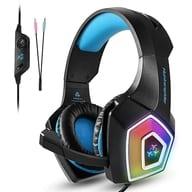 Gaming Headset Hunterspider V1 (Blue) [V-1]