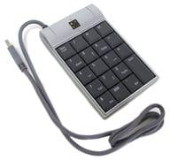 USB Ten Keyboard with Lunaris 2 Port HUB [TK-LU2BSV]