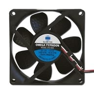 PC Fan OMEGA TYPHOON 80 mm Square Ultra-Quiet Type [CFZ-80S]