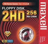 Maxell 5-inch Floppy 256 Formatted 10-Pack [MD2-256HD. C10K]
