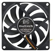 PC Fan 80 mm Square 10 mm Thick [OWL-FE0810M-BK]