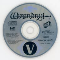 Wizardry V (Status : Game Disc Only)