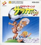 (with box&manual) Exciting Soccer Konami Cup
