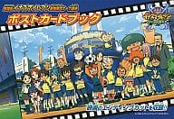 Inazuma Eleven The Movie version Strongest Corps Ogre Invasion Postcard Book