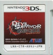 (without box&manual) Devil Survivor Overclocking