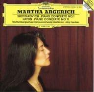 MARTHA ARGERICH / SHOSTAKOVICH HAYDN : KLAVIERKONZERTE [import]