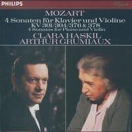 CLARA HASKIL / ARTHUR GRUMIAUX / MOZART / 4 SONATAS FOR PIANO AND VIOLIN. K. 301 / 304 / 376 & 378 [Import Version]