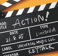 Keytalk / ACTION! [First Press Limited Version A with DVDs]
