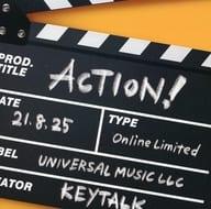 Keytalk / ACTION! [Regular Edition]