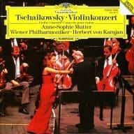 Anne-Sophie Mutter Herbert von Karajan Vienna Philharmonic Orchestra / Tchaikovsky : Violin Concerto