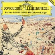 "Herbert von Karajan (Conductor) Berliner Philharmonie Orchestra / R. Strauss : symphonic poem ""Don Quixote"" and ""Till"""