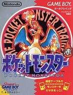 (without box&manual) Pocket Monsters red