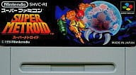 (without box&manual) SUPER METROID