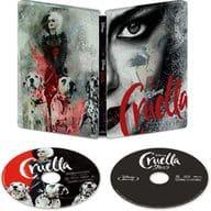Cruela 4K ULTRA HD + Blu-ray MovieNEX Steel Book specification [Amazon.co.jp only]