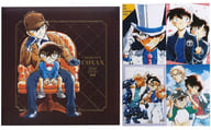 "Shinichi & Conan & Orchid Photo Album & Bromide 4 piece set ""Detective Conan"" Weekly Shonen Sunday S October 2019 issue All applicants service Winner"