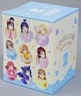 [破損品 ] 愛克婭精裝限定版全卷徵收 BOX 「Blu-ray 愛情 live! Sunshine!!2 nd Season 精裝限定版」 TSUTAYA 全卷買進優待