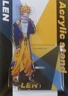 Len Kagamine (Stylish idol / Autumn Red Sound) Acrylic Stand 「 Vocaloid 」