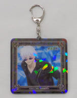 """Gojo Satoh Hologram Acrylic Key Holder """"Odekake ver. 「 Sorcery Fight 」"""""""