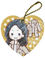 Mirae Yoshizuki (Plain Clothes) 「 Looking for Witches Apprentice Character Leather Charm 01. Graph Art Design 」