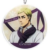 Erwin Smith (scarf version) BIG Acrylic Key Holder 「 Attack on Titan 」