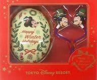 Mickey & Minnie (Happy Winter Holiday) Earphones 「 Disney 」 Tokyo Disney Resort only