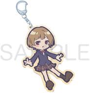 Natsurin Hanabi SD Large Acrylic Key Holder 「 Waku Character Yuzakikun 」