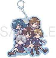 Set SD Large Acrylic Key Holder 「 Waku Character Yuzaki Kun 」