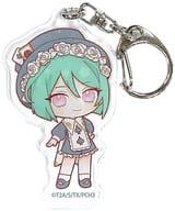 Midorikawa Sara 「 Kiratto Pri Chan Acrylic Key Holder 06. Wonderland ver. Mini Character 」