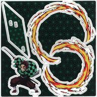 [A la carte] Kamado Sumijiro pop-up acrylic mascot 「 Kimetsu-no Yaiba 」