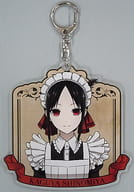 Shinomiya Kaguya (Maid & Butler ver.) Illustration BIG Acrylic Key Holder 「 Kaguya-sama wa Kokurasetai? ~ Genius's Love Battle ~ 」