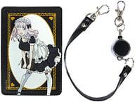 Chika Fujiwara (maid & & Butler ver.) 1 Pocket Pass Case 「 Kaguya-sama wa Kokurasetai? ~ Genius's Love Battle ~ 」
