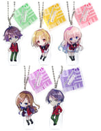 Set of 5 Kinds 「 Welcome to the Class of Merit-acy Satellite Class Vol. 3 Trading Acrylic Stand Key Holder 」