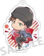 Shuichi Akai 「 Detective Conan Trading Acrylic Key Holder Pyon Character 」