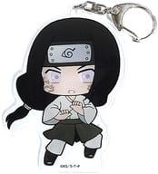 Neji Hyuga (Yuin ver.) Mini Character Big Key Holder 「 NARUTO - Naruto Uzumaki - Shippuden 」