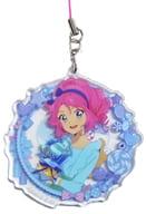 Sakuraba Lola 「 Aikatsu Stars!! Kyarabhuyu Acrylic Strap - Pastel Candy - 」 Animate Limited