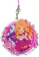 Kasumi Mahiru 「 Aikatsu Stars!! Kyarafuyu Acrylic Strap - Pastel Candy - 」 Animate Limited