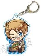 USA (Burger) Mini Character Acrylic Key Holder 「 Hethalia World ★ Stars 」
