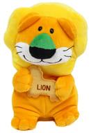 獅子寶寶動物毛絨玩偶藍牙音箱「金必」