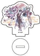 ベルキア&山茶&綿貫櫻哉「SERVAMP-サーヴァンプ-迷你壓剋力立牌01.手繪塗鴉風設計祝賀ver.」