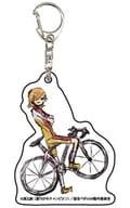 AOYAGI 1 「 YOWAMUSHI PEDAL Glory LINE Acrylic Key Holder 01. Sohoku ver. Graph Art Design 」
