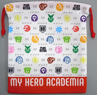 Logo drawstring bag 「 MY HERO ACADEMIA THE MOVIE WORLD HEROES MISSION 」 Theater Goods